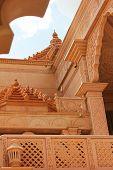 stock photo of jainism  - nareli jain temple view rajasthan ajmer - JPG