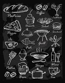 foto of diners  - menu icons - JPG