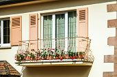 image of hermetic  - Renovated pvc windows in old countryside house Alsace - JPG