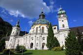 stock photo of bavarian alps  - Ettal Monastery - JPG