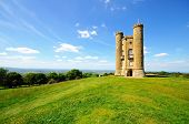 image of broadway  - Broadway tower on Broadway Hill near Broadway Worcestershire England UK Western Europe - JPG