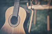 picture of guitar  - Spanish guitar - JPG