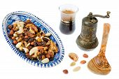 image of mixture  - A mixture of nuts popular in Arab countries - JPG