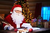 picture of letters to santa claus  - Santa Claus answering Christmas letters - JPG