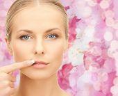 image of lip augmentation  - beauty - JPG