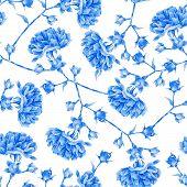 foto of blue rose  - Floral pattern - JPG