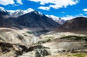 stock photo of unbelievable  - Dry mountains at an unbelievable height only in Inida - JPG