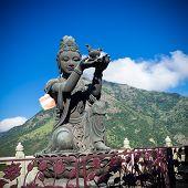 stock photo of metal sculpture  - Buddha statue Hong Kong - JPG