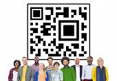 picture of qr codes  - QR code Identity Marketing Concept - JPG