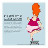 stock photo of obese  - the problem of excess weight - JPG