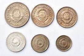 foto of former yugoslavia  - Series uncirculated coins of former Yugoslavia 1970 - JPG