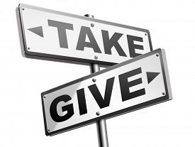 foto of generous  - give take to charity and make a contribution or donation altruism and generous giving and donate cheap grudging volunteering  - JPG