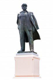 image of lenin  - Isolated komunist Lenin - JPG