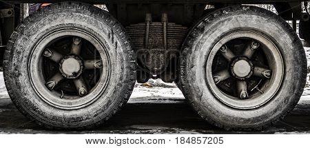 Wheels of a