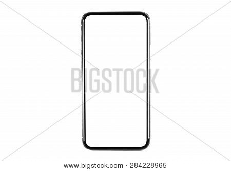 Smartphone With Blank Screen Mock