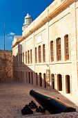 stock photo of el morro castle  - Interior view of the famous castle and lighthouse of El Morro - JPG