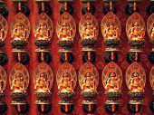 Постер, плакат: Гуань Инь в китайский храм
