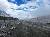 stock photo of sherpa  - Road to North Everest Base Camp in Tibet - JPG