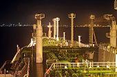 foto of lng  - LNG tanker  - JPG