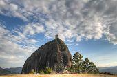 pic of medellin  - Penol rock in Antioquia - JPG
