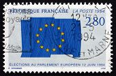 Postage Stamp France 1994 Flag Of European Union