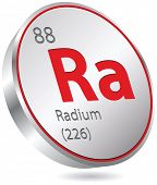 pic of radium  - radium element - JPG
