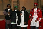 LOS ANGELES - NOVEMBER 21: Dem Franchize Boyz at the 34th Annual American Music Awards at Shrine Aud