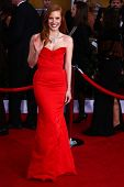 Jessica Chastain at the 19th Annual Screen Actors Guild Awards Arrivals, Shrine Auditorium, Los Ange