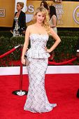 Kelli Garner at the 19th Annual Screen Actors Guild Awards Arrivals, Shrine Auditorium, Los Angeles,