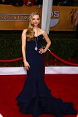 Amanda Seyfried at the 19th Annual Screen Actors Guild Awards Arrivals, Shrine Auditorium, Los Angel