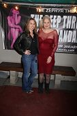 Christy Oldham, Sally Kirkland at the Opening Night of