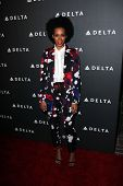 Solange Knowles at Delta Airline's Celebration of LA's Music Industry, Getty House, Los Angeles, CA
