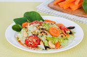 image of iceberg lettuce  - carrot salad with iceberg lettuce - JPG