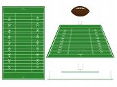 picture of offside  - An Illustration of an American Football Field with Sections and Perspective - JPG