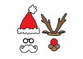 picture of rudolph  - Illustration of items related to Christmas - JPG