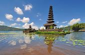 picture of hindu temple  - Floating Temple - JPG