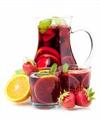 stock photo of sangria  - Cocktail collection  - JPG