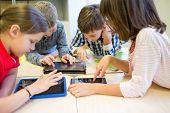 foto of tablet pc computer  - education - JPG
