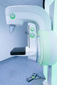 pic of mammography  - Mammography breast screening device in hospital laboratory - JPG