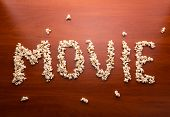 picture of popcorn  - Word  - JPG