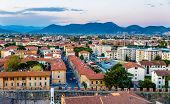 picture of apennines  - View of Pisa from the tower  - JPG