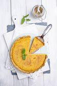 stock photo of tarts  - Tarte au citron - JPG