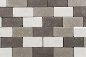 stock photo of paving  - Paving stone brick  - JPG