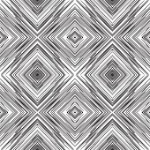 picture of diagonal lines  - Art abstract diagonal square tangle line vector pattern background - JPG