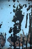 image of tar  - Metal tar and oil texture or background - JPG