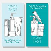 pic of cosmetic products  - cosmetic banners for organic products - JPG