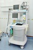stock photo of anesthesiology  - The image of a dental anesthesiology machine  - JPG