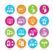 picture of human resource management  - set of 16 human resource management - JPG