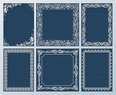 pic of scroll  - frames elegant set - JPG