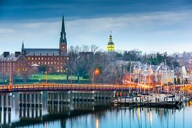 stock photo of maryland  - Annapolis - JPG